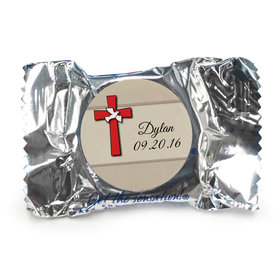 Confirmation Personalized York Peppermint Patties Red Cross and Dove