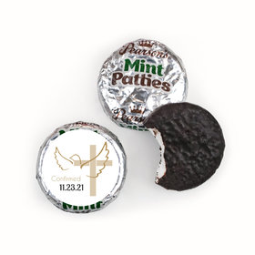 Confirmation Personalized Pearson's Mint Patties Cross & Dove