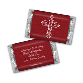 Crimson Cross Personalized Miniature Wrappers