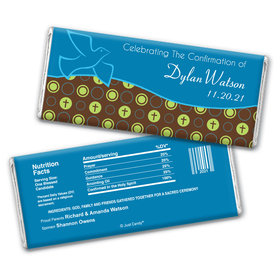 Fly Away Personalized Candy Bar - Wrapper Only