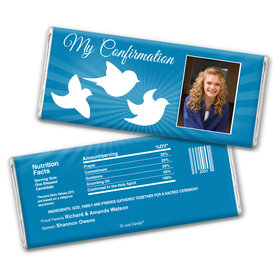 Illuminated Spirit Personalized Candy Bar - Wrapper Only