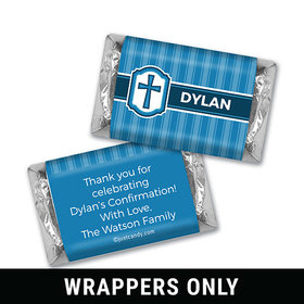 Classic Confirmation Personalized Miniature Wrappers