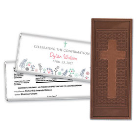 Blooming Life Confirmation Personalized Hershey's Bar Assembled