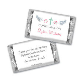 Blooming Life Confirmation Personalized Miniature Wrappers