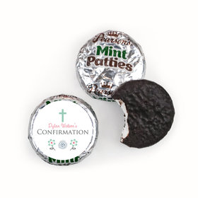 Confirmation Personalized Pearson's Mint Patties Blooming Flowers