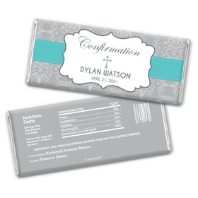 Personalized Confirmation Remembrance Chocolate Bar Wrappers