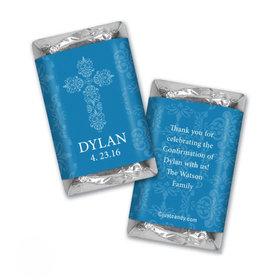 Beautifully Blessed Confirmation Personalized Miniature Wrappers