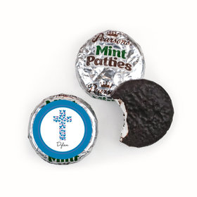 Confirmation Personalized Pearson's Mint Patties Hearts Cross