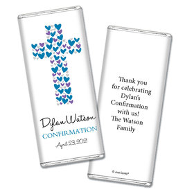 Sweet Sacrament Confirmation Personalized Candy Bar - Wrapper Only