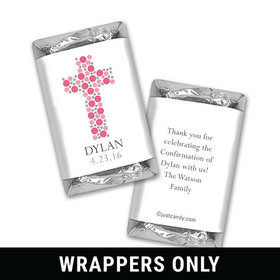 Stepping Stones Confirmation Personalized Miniature Wrappers