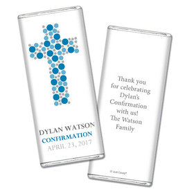 Confirmation Personalized Chocolate Bar