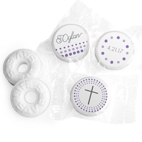 Radiant Cross Personalized Confirmation LIFE SAVERS Mints Assembled