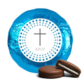 Radiant Cross Confirmation Favors Belgian Chocolate Covered Oreo Assembled