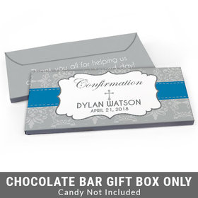 Deluxe Personalized Ribbon Confirmation Candy Bar Cover