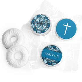 Personalized Confirmation Stain Glass LifeSavers Mints