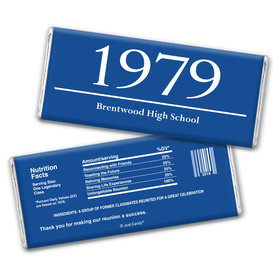 Good Year Personalized Candy Bar - Wrapper Only