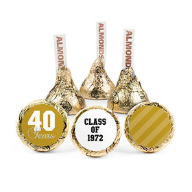 Personalized Class Reunion Bold Year Hershey's Kisses (50 pack)