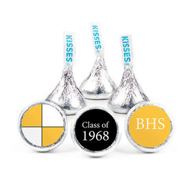 Personalized Class Reunion School Colors Hershey's Kisses (50 pack)