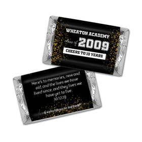 Class Reunion Personalized HERSHEY'S MINIATURES Wrappers Reunion Sparkle