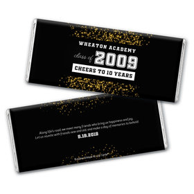 Class Reunion Personalized Chocolate Bar Wrappers Reunion Sparkles