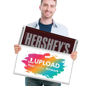 Personalized Add Your Artwork Giant 5lb Hershey's Chocolate Bar