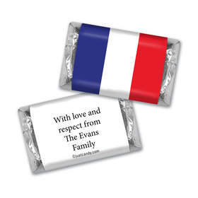Olympic Party Favor Personalized HERSHEY'S MINIATURES French Flag from France