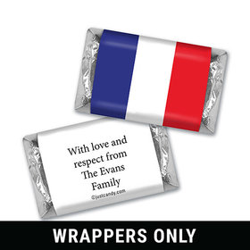 Olympic Party Favor Personalized HERSHEY'S MINIATURES Wrappers French Flag from France