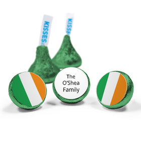 Personalized St. Patrick's Day Gold Hershey's Kisses (50 Pack)