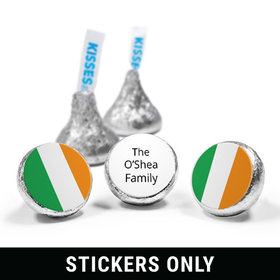 """Personalized St. Patrick's Day Gold 3/4"""" Sticker (108 Stickers)"""