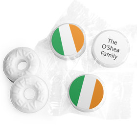 Personalized St. Patrick's Day Gold Life Savers Mints