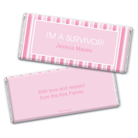 She Did It Personalized Candy Bar - Wrapper Only