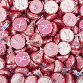 Breast Cancer Awareness Hershey's Kisses Candy