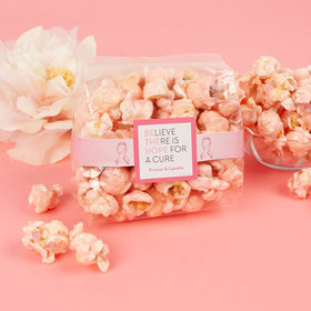 Breast Cancer Awareness Be the Hope Candy Coated Popcorn 3.5 oz Bags