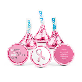 Personalized Breast Cancer Awareness Be the Hope Hershey's Kisses (50 pack)