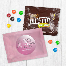 Personalized Breast Cancer Awareness Be the Hope - Milk Chocolate M&Ms