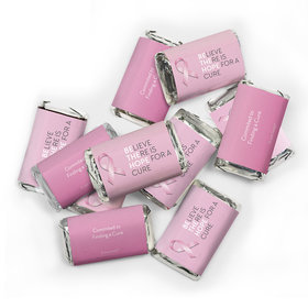 Breast Cancer Awareness Candy Hershey's Miniatures Chocolate