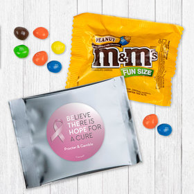 Personalized Breast Cancer Awareness Be the Hope - Peanut M&Ms