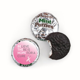 Personalized Pearson's Mint Patties- Breast Cancer Awareness Be the Hope
