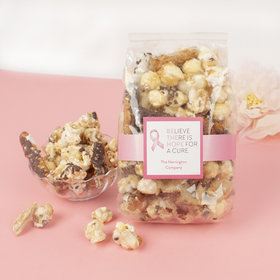 Personalized Breast Cancer Awareness Be the Hope Trendy Trash Popcorn 8 oz Bags