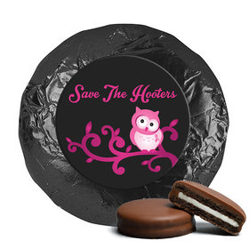 Personalized Chocolate Covered Oreos - Breast Cancer Awareness Save the Hooters