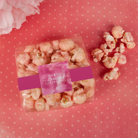 Breast Cancer Awareness Inspiration Candy Coated Popcorn 3.5 oz Bags