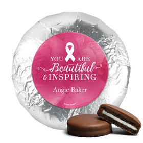 Personalized Chocolate Covered Oreos - Breast Cancer Awareness Pink Inspiration