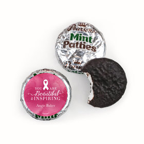 Personalized Pearson's Mint Patties- Breast Cancer Awareness Pink Inspiration