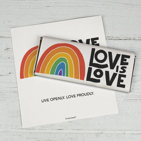 Love is Love Candy Bar Wrappers Only