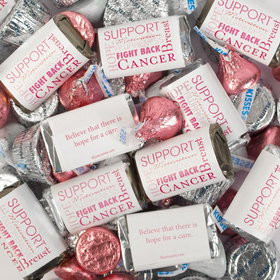 Breast Cancer Awareness Hershey's Miniatures, Kisses and JC Peanut Butter Cups