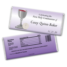 Holy Host Personalized Candy Bar - Wrapper Only