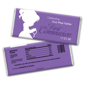 Precious Prayers Personalized Candy Bar - Wrapper Only