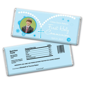 Along the Holy Path Personalized Candy Bar - Wrapper Only