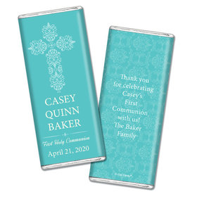 Beautifully Blessed Personalized Candy Bar - Wrapper Only