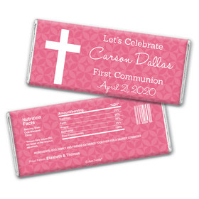 Communion Spirit Personalized Candy Bar - Wrapper Only